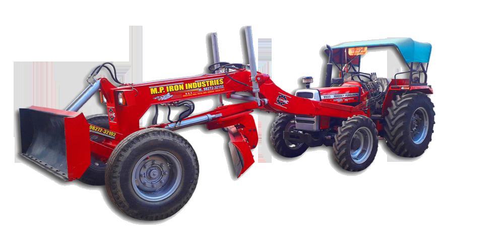 M P  Iron Industries  Motor Grader, Tractor Grader, Dozer