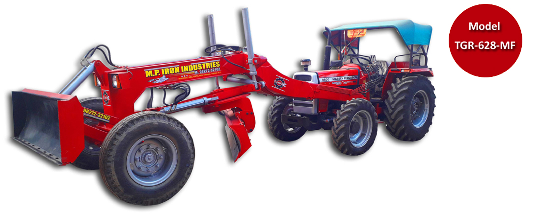 Tractor Grader, Model -(TGR-628, TGR-629 HD) - MP Iron
